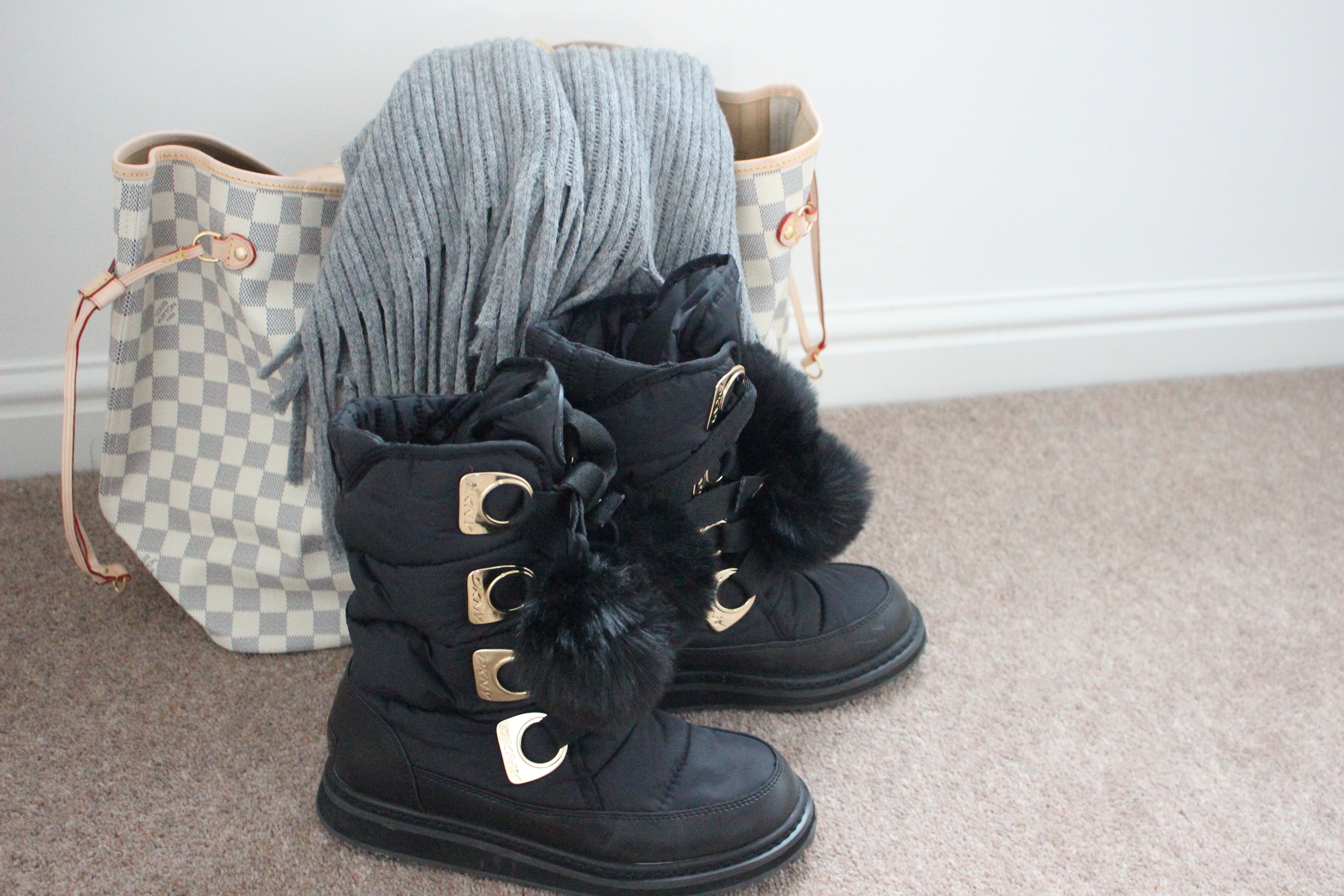 Cloggs Footwear Store Opening and the DKNY Snow Boots - Remie's ...